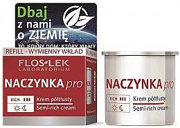 Kup Półtłusty krem do twarzy Naczynka Pro - Floslek Dilated Capillaries Semi-Rich Cream Refill (wymienny wkład)