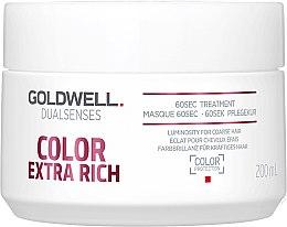 Kup 60-sekundowy balsam regenerujący do włosów farbowanych - Goldwell Dualsenses Color Extra Rich 60sec Treatment