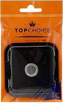 Kup Lusterko kosmetyczne dwustronne 5541, czarne - Top Choice