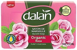 Kup Glicerynowe mydło Róża - Dalan Savon De Marseille Glycerine Soap Organic Rose