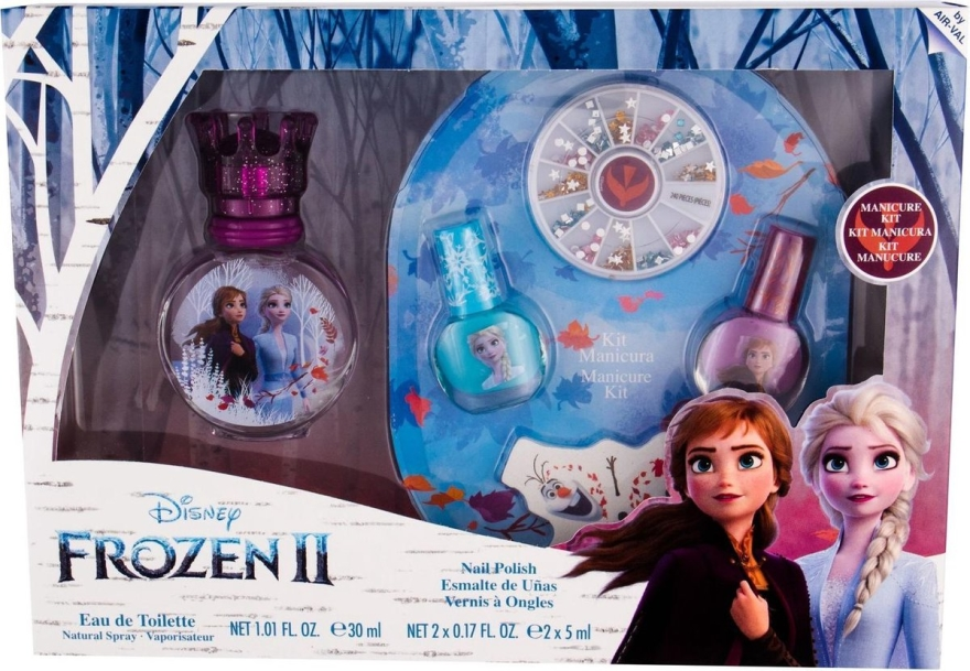 Disney Frozen - Zestaw (edt 30 ml + manicure kit) — фото N2