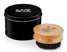 Kup Drewniana szczotka do brody - Angry Beards Safe Brush