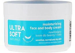 Kup Nawilżający krem do twarzy i ciała - Ultra Soft Naturals