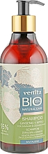 Kup Bioszampon Żeń-szeń + jabłko Rewitalizacja włosów zniszczonych i farbowanych - Venita Bio Natural Care