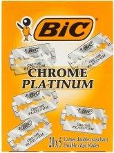 Kup Zestaw żyletek do maszynki do golenia, 100 szt. - Bic Chrome Platinum