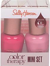 Kup Zestaw - Sally Hansen Color Therapy Nail Polish Mini Set (nail/polish/2x5ml)
