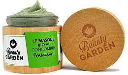 Kup Maska do twarzy z ogórkiem - Beauty Garden Cucumber Face Mask