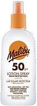 Kup Przeciwłoneczne mleczko w sprayu do ciała - Malibu Sun Lotion Spray High Protection Water Resistant SPF 50