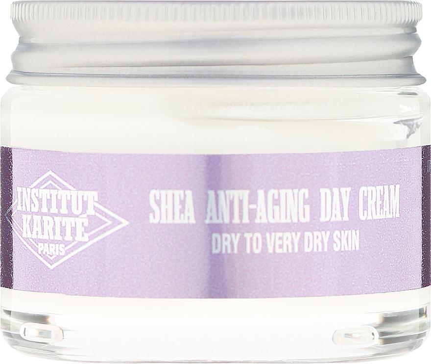 Przeciwzmarszczkowy krem do twarzy na dzień - Institut Karite Shea Anti-Aging Day Cream — фото N2