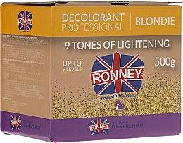 Kup Puder do rozjaśniania włosów do 9 tonów - Ronney Professional Decolorant Professional Blondie