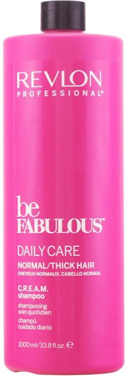 Oczyszczający szampon do włosów normalnych i grubych - Revlon Professional Be Fabulous Daily Care — фото N1