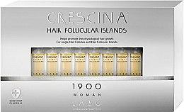 Kup Kuracja dla kobiet stymulująca odrastanie włosów i zapobiegająca ich wypadaniu - Crescina Hair Follicular Island 1900 Woman