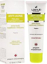 Kup Peeling enzymatyczny do skóry tłustej, trądzikowej i mieszanej - Floslek Anti Acne Peeling