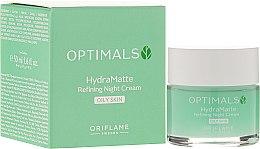 Kup Nawilżający krem matujący do twarzy na noc - Oriflame Optimals Hydra Matte Refininf Night Cream
