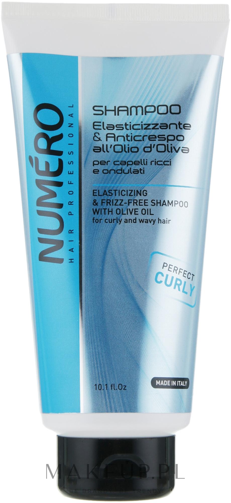 Szampon do włosów kręconych Oliwa z oliwek - Brelil Numero Elasticizing Shampoo — фото 300 ml