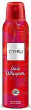 Kup C-Thru Love Whisper - Dezodorant w sprayu