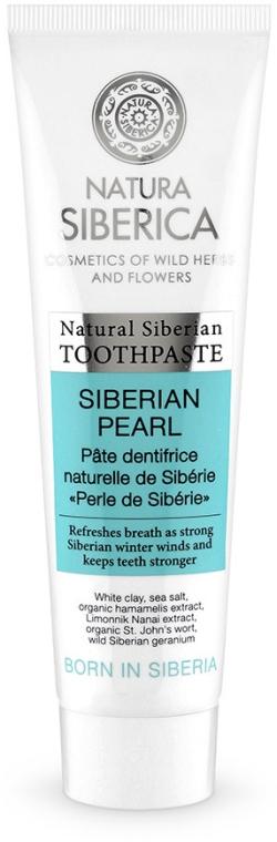 Wybielająca pasta do zębów Perła Syberii - Natura Siberica Natural Siberian Toothpaste