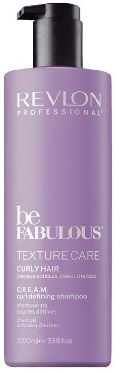 Szampon do włosów kręconych - Revlon Professional Be Fabulous Texture Care C.R.E.A.M. Curl Defining Shampoo
