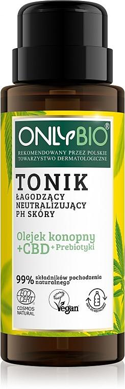 Tonik łagodzący, neutralizujący PH skóry - Only Bio