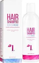 Kup PRZECENA! Szampon do włosów z keratyną - Intelligent Beauty Salon Keratin In-Side Hair Shampoo *