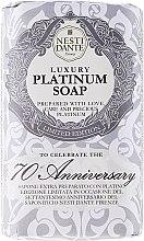 Kup Luksusowe platynowe mydło w kostce - Nesti Dante Luxury Platinum Soap 70th Anniversary