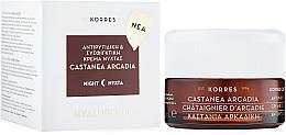 Kup Przeciwzmarszczkowy krem do twarzy - Korres Castanea Arcadia Antiwrinkle & Firming Night Cream for All Skin Types