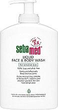 Żel do twarzy i ciała z dozownikiem - Sebamed Liquid Face and Body Wash — фото N3