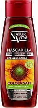 Kup Odżywka do włosów farbowanych wzmacniająca ich kolor - Natur Vital Coloursafe Henna Hair Mask Mahogony Hair
