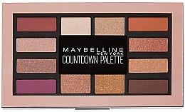 Paletka cieni do powiek - Maybelline Countdown Palette — фото N1