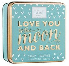Kup Mydło w metalowej puszce - Scottish Fine Soaps Love You To The Moon And Back Soap In A Tin