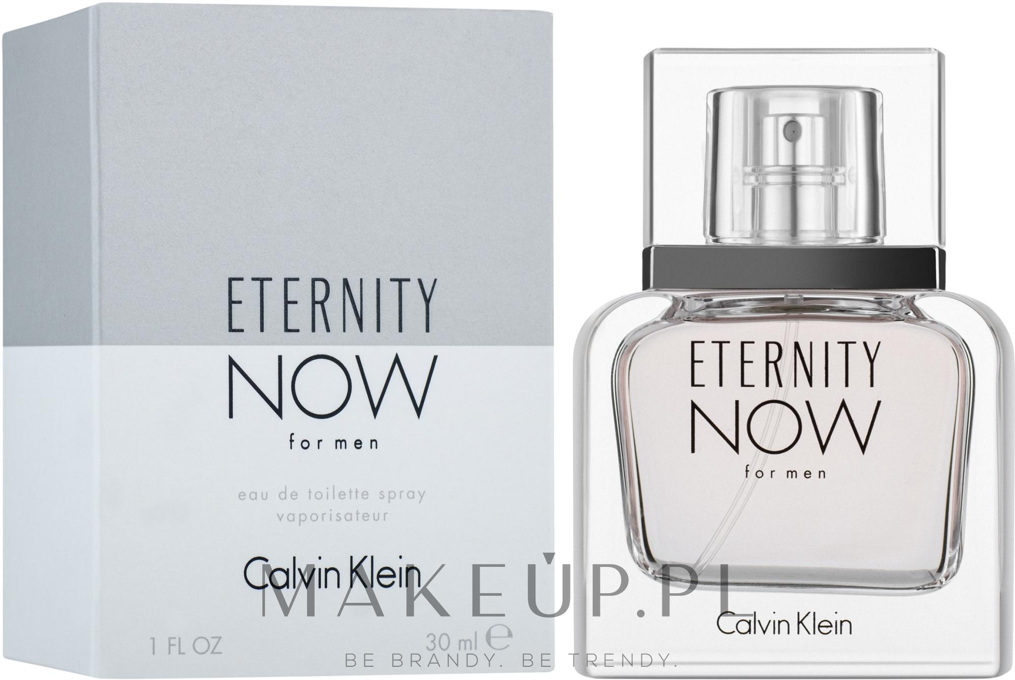 Calvin Klein Eternity Now For Men - Woda toaletowa — фото 30 ml