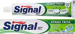 Kup Ziołowa pasta do zębów - Signal Family Herbal Fresh
