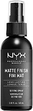 Kup Utrwalacz makijażu z matowym wykończeniem - NYX Professional Makeup Matte Finish Long Lasting Setting Spray