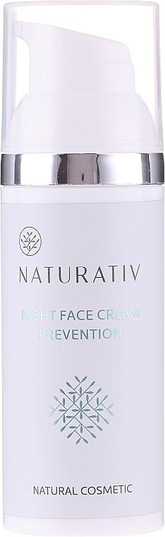 Krem do twarzy na noc 30+ - Naturativ Face Night Cream
