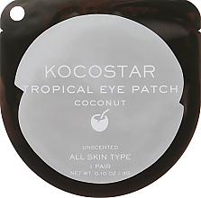 Kup PRZECENA! Hydrożelowe płatki pod oczy Kokos - Kocostar Tropical Eye Patch Coconut *