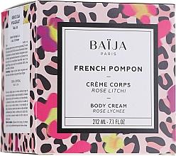 Kup Krem do ciała Róża i liczi - Baija French Pompon Rose Litchi Body Cream