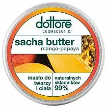 Kup Masło do twarzy i ciała Mango i papaja - Dottore Sacha Butter Mango-Papaya