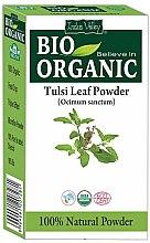 Kup Puder z liści azjatyckiej świętej bazylii tulsi wzmacniający włosy - Indus Valley Bio Organic