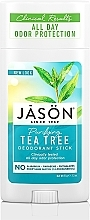 Kup Dezodorant w sztyfcie Drzewo herbaciane - Jason Natural Cosmetics Pure Natural Deodorant Stick Tea Tree