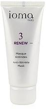 Kup Przeciwzmarszczkowa maseczka do każdego rodzaju cery - Ioma 3 Renew Anti-Wrinkle Mask