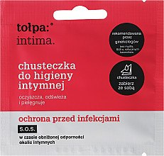 Kup Chusteczki do higieny intymnej Ochrona przed infekcjami 1 szt - Tołpa Intima SOS