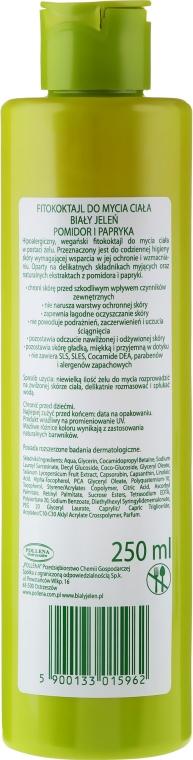 Fitokoktajl do mycia ciała do skóry wrażliwej Ochrona - Biały Jeleń Wege — фото N2