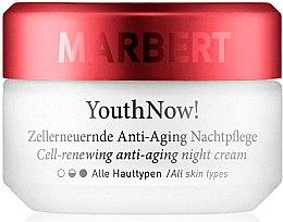 Kup Przeciwzmarszczkowy krem na noc do cery suchej - Marbert YouthNow! Cell-Renewing Antiaging Night Care