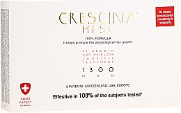 Kup Panaceum na rzednące włosy dla mężczyzn 1300 - Labo Crescina Re-Growth Anti-Hair Loss Complete Treatment 1300 Man