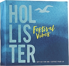 Kup Hollister Festival Vibes For Him - Zestaw (edt/50ml + h/b/wash/100ml)