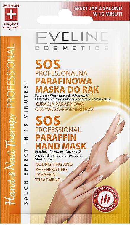 Profesjonalna parafinowa maska SOS do rąk - Eveline Cosmetics Hand & Nail Therapy
