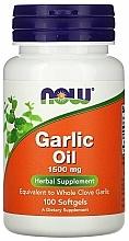 Kup Olej z czosnku w kapsułkach 1500 mg - Now Foods Garlic Oil
