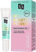 Kup Wygładzające serum-booster do twarzy Niacynamid 10% - AA My Beauty Power Niacinamide 10% Smoothing Serum-Booster