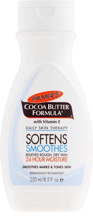 Nawilżający balsam do ciała z masłem kakaowym i witaminą E - Palmer's Cocoa Butter Formula Softens Smoothes Body Lotion
