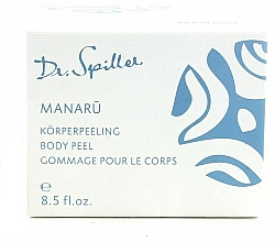 Kup Kremowy peeling do ciała - Dr. Spiller Manaru Body Peel